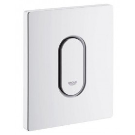 Grohe Arena Cosmo build in frame urinal button, white 38857SH0