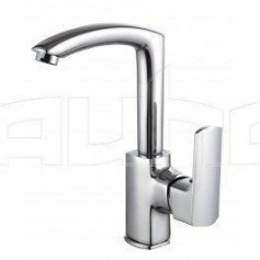 Harma Kaleva basin mixer, with swivel spout, high, 8757