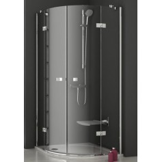 Ravak shower cabin, round SMSKK4-80 (radius 500mm)