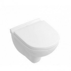 Villeroy Boch O.novo Compact hanging WC toilet bowl 56881 with seat 9M406101