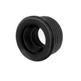 WC toilet bowl rubber gasket 04150040, 50x40, black