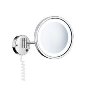 Smedbo FK470E cosmetic mirror with LED lighting