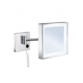 Smedbo FK472E cosmetic mirror with LED lighting