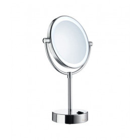 Smedbo FK474E cosmetic mirror with LED lighting