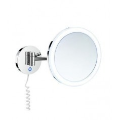 Smedbo FK482E cosmetic mirror with LED lighting