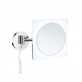 Smedbo FK483E cosmetic mirror with LED lighting