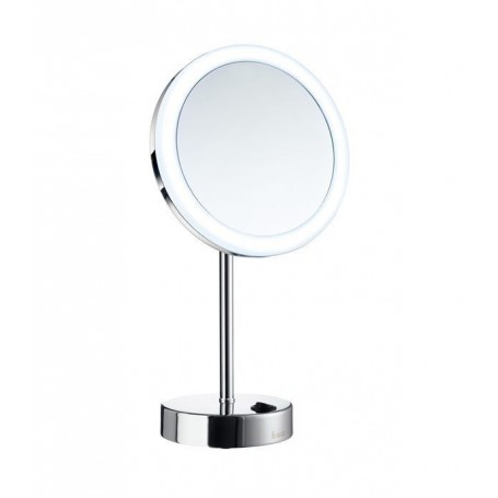 Smedbo FK484E cosmetic mirror with LED lighting