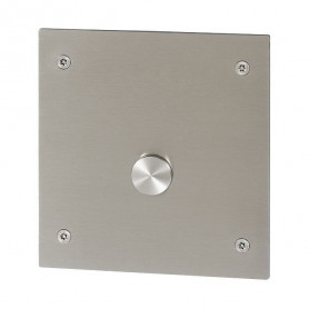 Sanela SLS 01PA anti vandalism shower control panel, with piezo button, without shower head, 24V