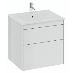 IFO Sense Slim bathroom vanity unit with washbasin SU 60 V2, matte white, 47435