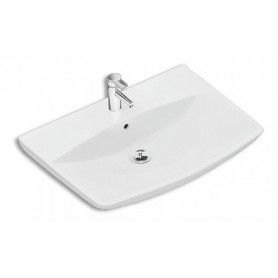 IFO washbasin Inspira Art 700mm, with overflow, without water mixer hole, 15070