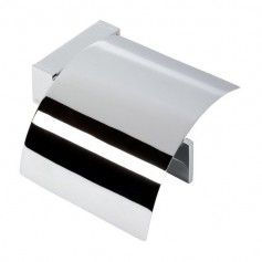 Geesa Modern Art 913508-02 toilet paper holder with cover
