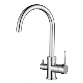 Aquasanita TAP 2963-1 kitchen mixer, for filtered water, Chrome