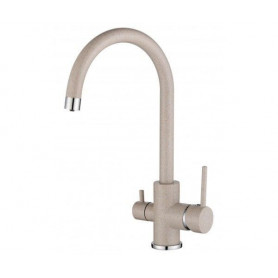 Aquasanita TAP 2963-110 kitchen mixer, for filtered water, Beige