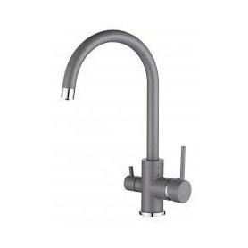 Aquasanita TAP 2963-202 kitchen mixer, for filtered water, Al metalic