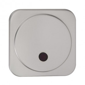 Sanela SLP 02NZ infrared urinal flush button with mounting box, integrated power supply, 230V AC