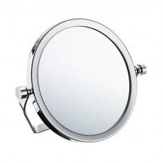 Smedbo FK443 cosmetic mirror, surface mounted, two-sided, 5x, d152mm
