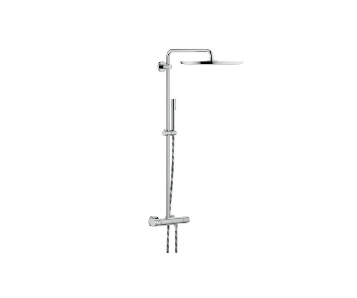 grohe rainshower 400 du as sist ma ar termostatu ar rokas du u sena stick 27174001. Black Bedroom Furniture Sets. Home Design Ideas