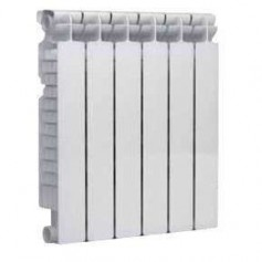 Fondital alumīnija radiators 600x 4sekc. balts Exclusivo