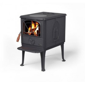 Waterford cast iron firewood heating oven FIONN, without water heater, matte