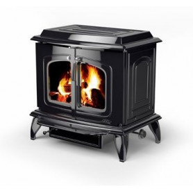 Waterford cast iron firewood heating oven GRAINNE, without water heater, enamel