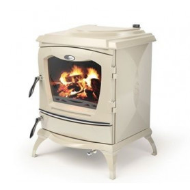 Waterford cast iron firewood heating oven LISMORE, without water heater, enamel