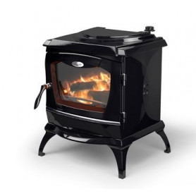 Waterford cast iron firewood heating oven ARDMORE, with water heater, matte