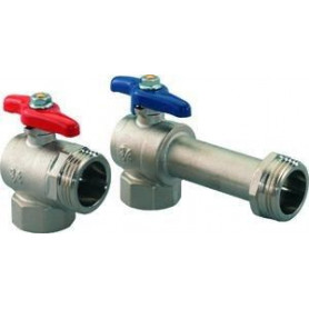 Uponor Smart ball valve, corner 3/4- G1 1086559