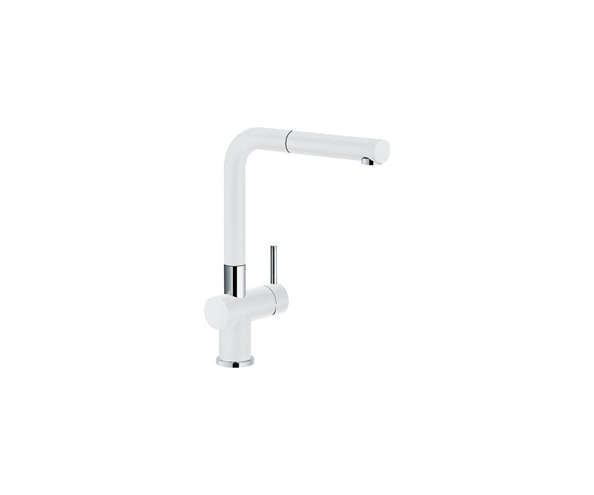 Franke 115 0373 888 active plus kitchen mixer with pull out spout white