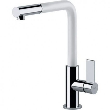 Franke 115.0373.944 NEPTUNE-EVO kitchen mixer, with pull-out spout, chrome, white