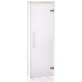 Andres saunas durvis White 8x20