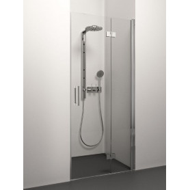 Stikla Serviss foldable shower doors Klaudija 1000
