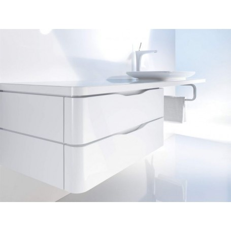 Duravit PuraVida Semi Tall Bathroom Cabinet For Surface/ Console PV9201 600  X 550 Mm