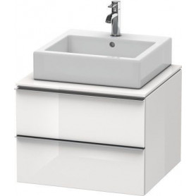 Duravit Happy D.2 bathroom cabinet for washbasin surface/ console H26300 600 x 548 mm