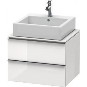 Duravit Happy D.2 bathroom cabinet for washbasin surface/ console H26310 600 x 478 mm