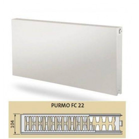 Purmo Plan Compact radiator with side connection 22 500x1000