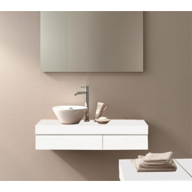 Duravit Fogo bathroom washbasin surface/ console with drawer FO8370 900 x 360 mm