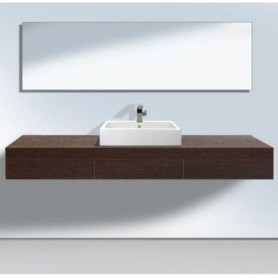 Duravit Fogo bathroom washbasin surface/ console with drawer FO8385 1600 x 360 mm