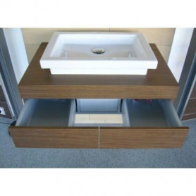 Duravit Fogo bathroom washbasin surface/ console with drawer FO8521 800 x 550 mm