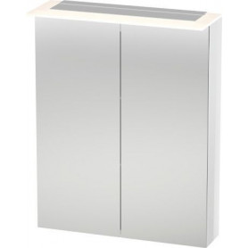 Duravit X-Large bathroom mirror cabinet with LED XL7592 600 x 138/208
