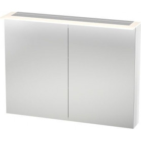 Duravit X-Large bathroom mirror cabinet with LED XL7595 1000 x 138/208