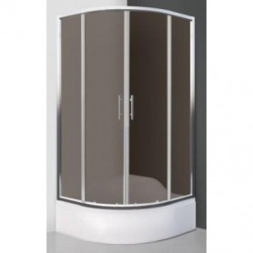Roltechnik shower cabin, round Madison Neo 800