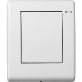 ТЕСЕplanus build in frame urinal button, stainless steel, matte white 9242312