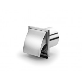 Naber stainless steel ventilation outlet, 190x190mm, 4022019, inclined