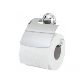Tiger Torino toilet paper holder with cover, chrome