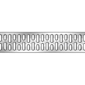 ACO Multiline rainwater channel cover grille A15, galvanized 12610