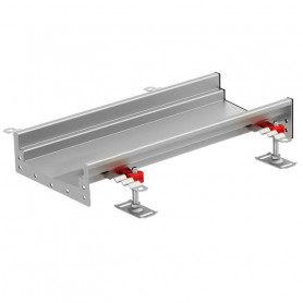 ACO Modular 200 stainless steel channel 1000mm without inclination 60mm