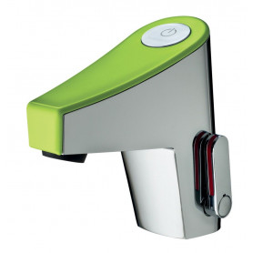 SENSITIVE MIXER PRESTO NEW TOUCH GREEN -BATTERY- WITHOUT STOP VALVE