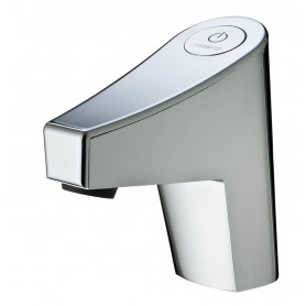 SENSITIVE SINGLE TAP PRESTO NEW TOUCH -BATTERY- WITH STRAIGHT STOP VALVE - FLOW 2 L/MIN