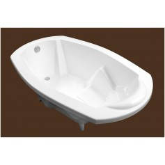 SPN cast stone bathtub Gliemežnīca (Sea Shell) 1760x1050