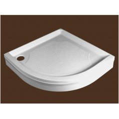 SPN round shower tray P704 900x900 with panel and legs R550